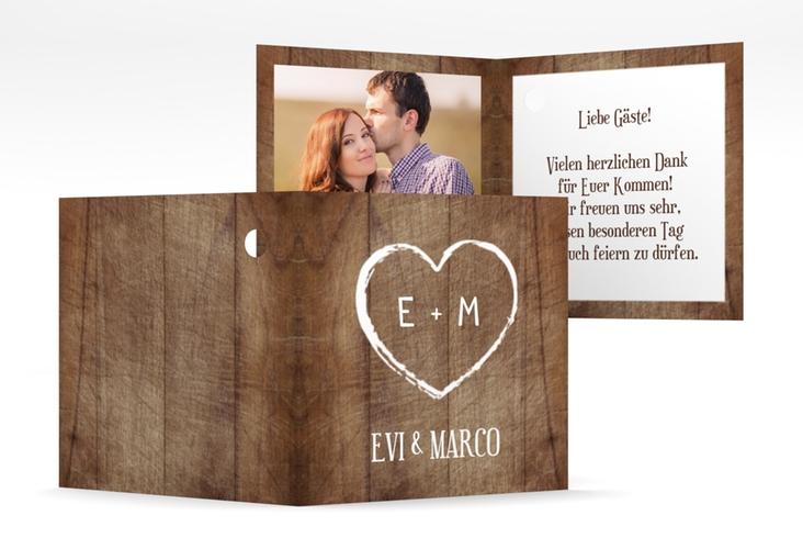 """Geschenkanhänger Hochzeit """"Wood"""" Geschenkanhänger 10er Set"""