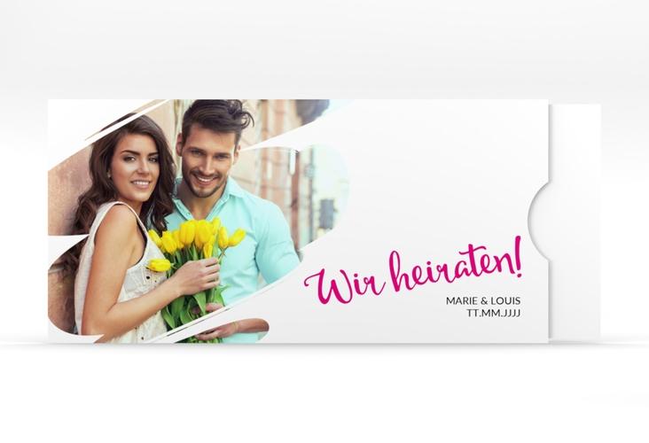 """Hochzeitseinladung """"Felice"""" Einsteckkarte"""