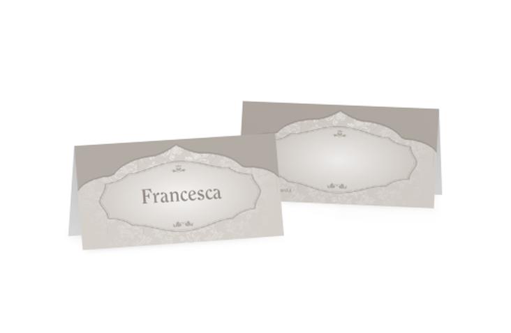 Segnaposti matrimonio collezione Francoforte Tischkarten