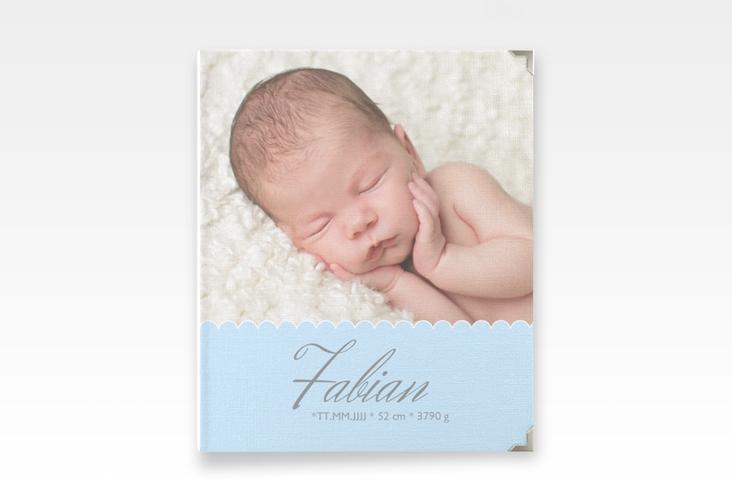 "Baby Fotoalbum ""Serenity"" 21 x 25 cm blau"