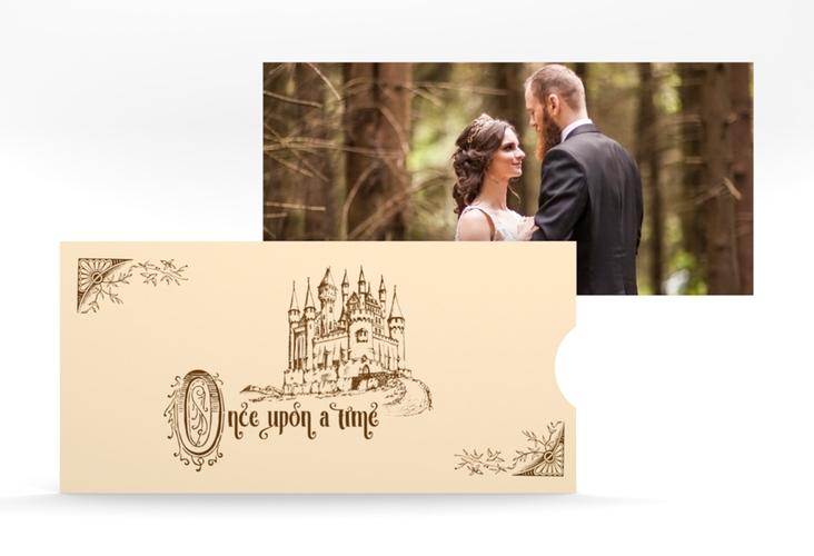"""Hochzeitseinladung """"Storybook"""" Einsteckkarte"""