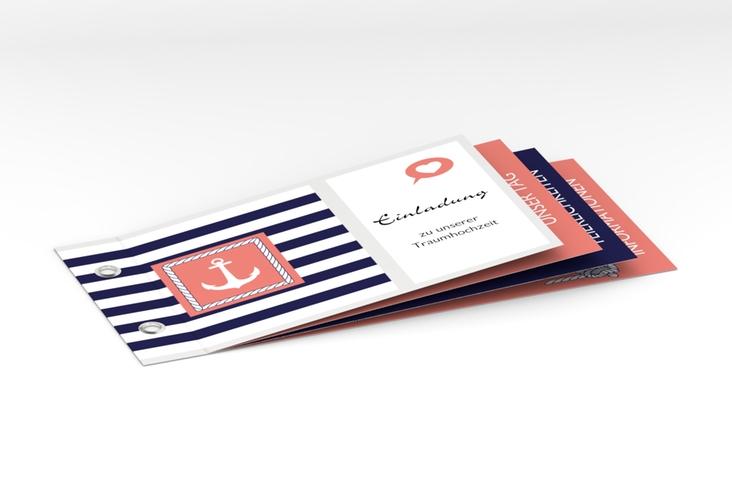 """Hochzeitseinladung """"Girona"""" Booklet"""