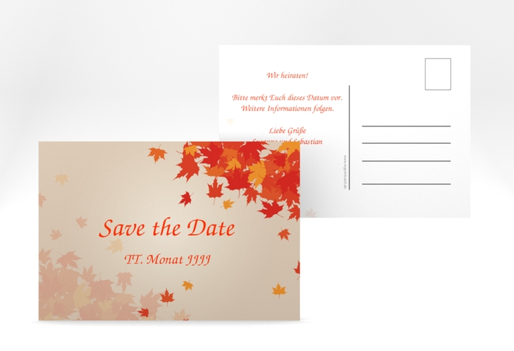 "Save the Date-Postkarte ""Zwiesel"" A6 Postkarte"