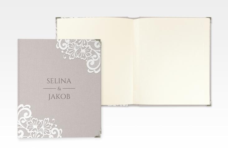 """Hochzeitsalbum """"Vintage"""" 21 x 25 cm"""