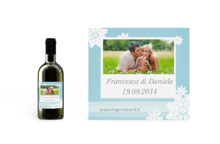 Etichette piccolo matrimonio collezione Merano Etikett Piccolo