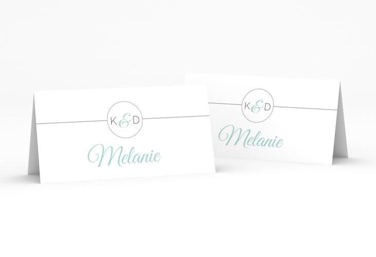 """Tischkarte Hochzeit """"Unique"""" Tischkarten"""