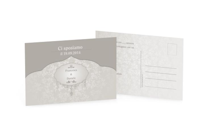 Antwortkarte Hochzeit Kollektion Frankfurt A6 Postkarte