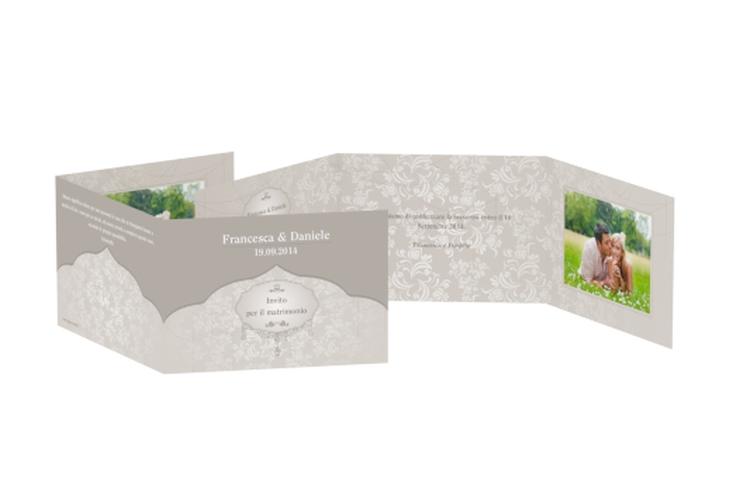 Inviti matrimonio collezione Francoforte A6 doppelt geklappt