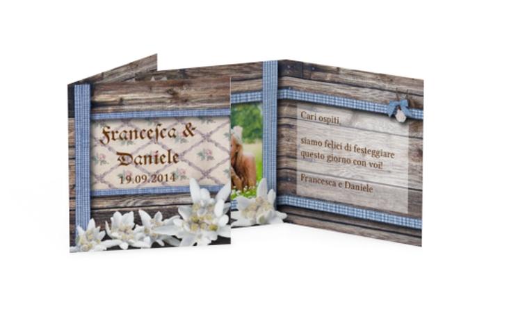 Biglietti Bomboniera matrimonio collezione Monaco Geschenkanhänger 10er Set