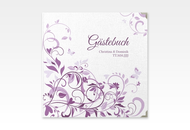 g stebuch selection hochzeit lilly hardcover. Black Bedroom Furniture Sets. Home Design Ideas