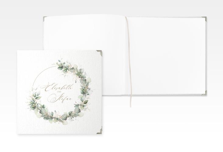 """Gästebuch Selection Hochzeit """"Selvatica"""" Leinen-Hardcover weiss"""