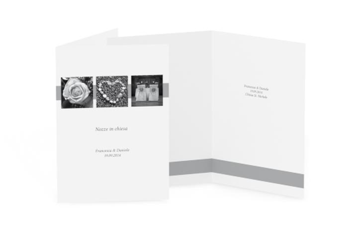 Libro messa matrimonio collezione Marseille DIN A5 geklappt