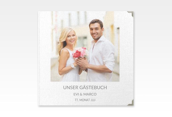 """Gästebuch Selection Hochzeit """"Vista"""" Leinen-Hardcover"""