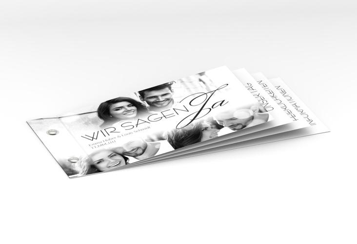 """Hochzeitseinladung """"Bokeh"""" Booklet"""