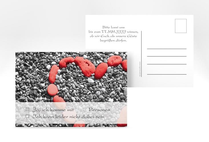 """Antwortkarte Hochzeit """"Bilbao"""" A6 Postkarte"""