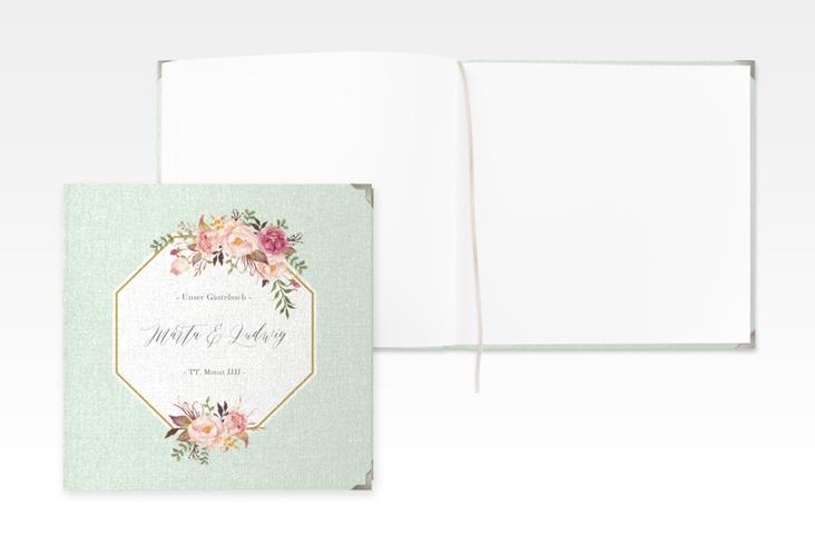 "Gästebuch Selection Hochzeit ""Prachtvoll"" Leinen-Hardcover mint"