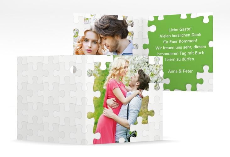 """Geschenkanhänger Hochzeit """"Puzzle"""" Geschenkanhänger 10er Set"""