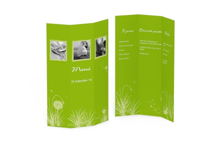 Menù matrimonio collezione Murcia DIN A4 Wickelfalz