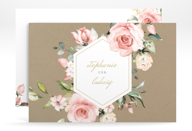 """Change the Date-Karte """"Graceful"""" A6 quer"""