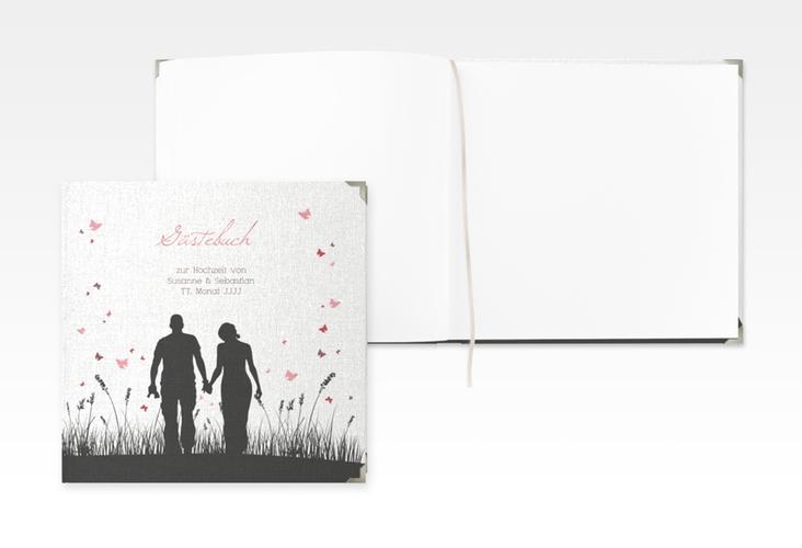 """Gästebuch Selection Hochzeit """"Rouen"""" Leinen-Hardcover schwarz"""