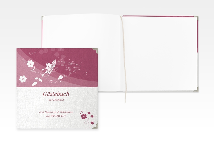 "Gästebuch Selection Hochzeit ""Verona"" Leinen-Hardcover"