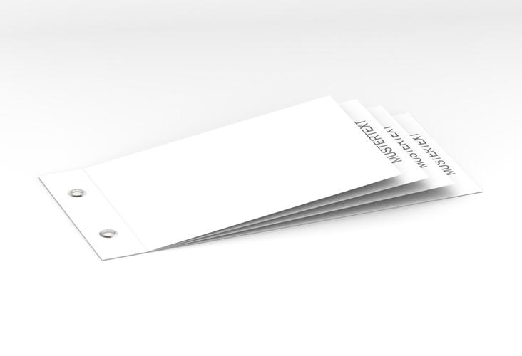 Blanko Booklet Booklet