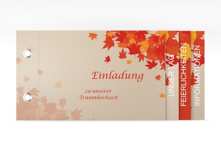 """Hochzeitseinladung """"Zwiesel"""" Booklet"""