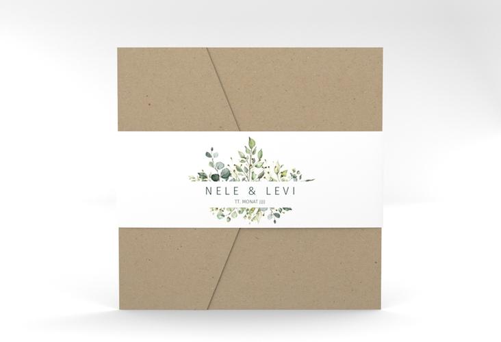 "Hochzeitseinladung ""Enchanting"" Pocketfold"