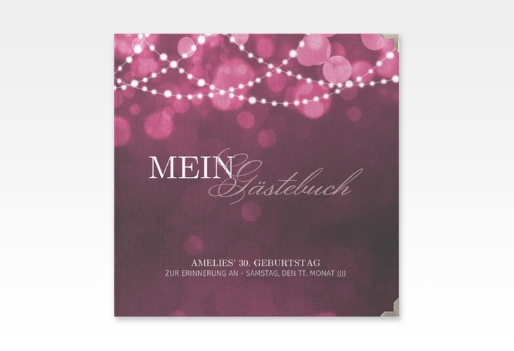 "Gästebuch Selection Geburtstag ""Girlande"" Hardcover"