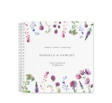 """Gästebuch Hochzeit """"Wildblumen"""""""