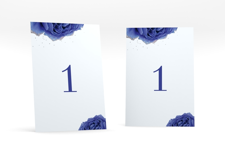"""Tischnummer Hochzeit """"Cherie"""" Tischaufsteller grau"""