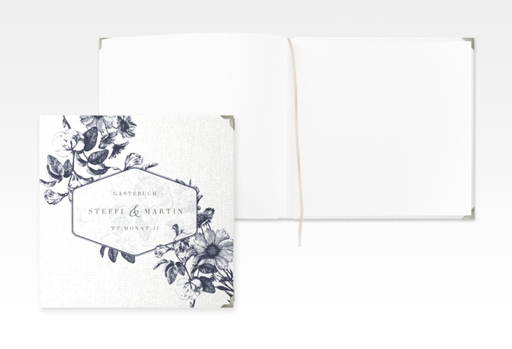 """Gästebuch Selection Hochzeit """"Magnificent"""" Leinen-Hardcover"""