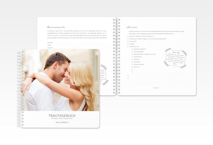 """Trautagebuch Hochzeit """"Vista"""" Trautagebuch Hochzeit weiss"""