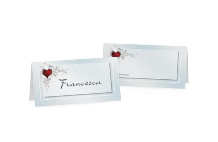 Segnaposti matrimonio collezione Bolzano Tischkarten