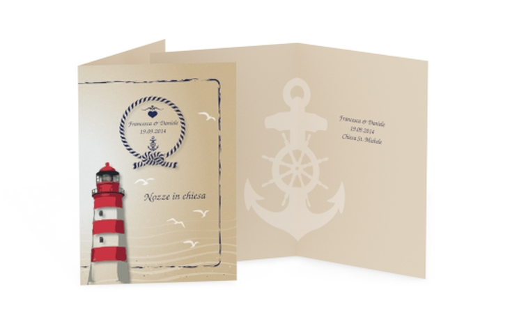 Libro messa matrimonio collezione Amburgo DIN A5 geklappt