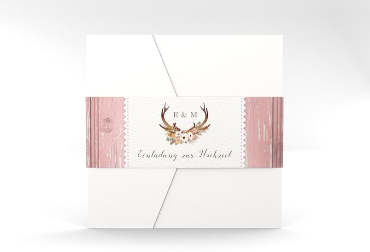 """Hochzeitseinladung """"Heimatjuwel"""" Pocketfold"""