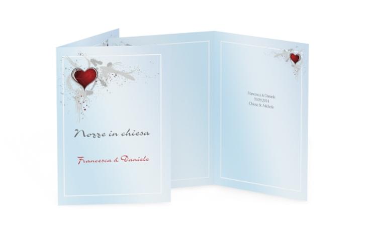 Libro messa matrimonio collezione Bolzano DIN A5 geklappt