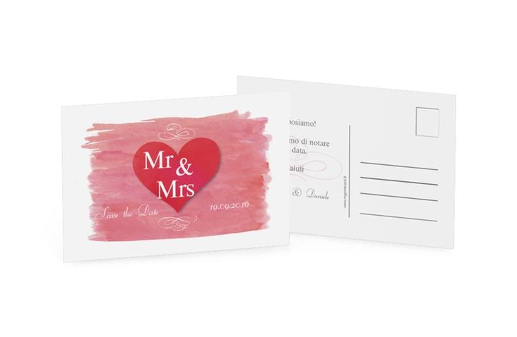 Biglietti Save the Date collezione Fuerteventura A6 Postkarte