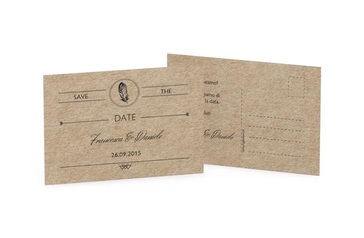 Biglietti Save the Date collezione Colorado A6 Postkarte