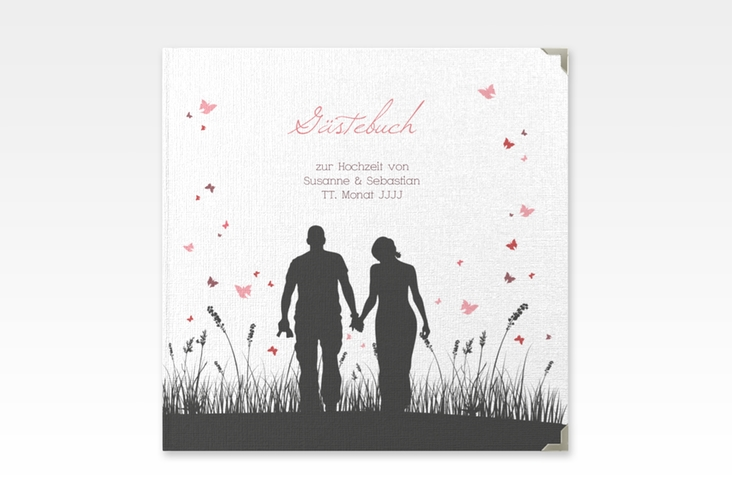 """Gästebuch Selection Hochzeit """"Rouen"""" Leinen-Hardcover"""
