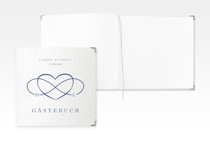 "Gästebuch Selection Hochzeit ""Infinity"" Leinen-Hardcover"