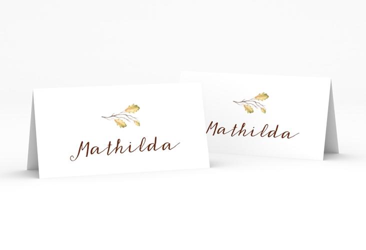 """Tischkarte Hochzeit """"Herbsthochzeit"""" Tischkarten"""
