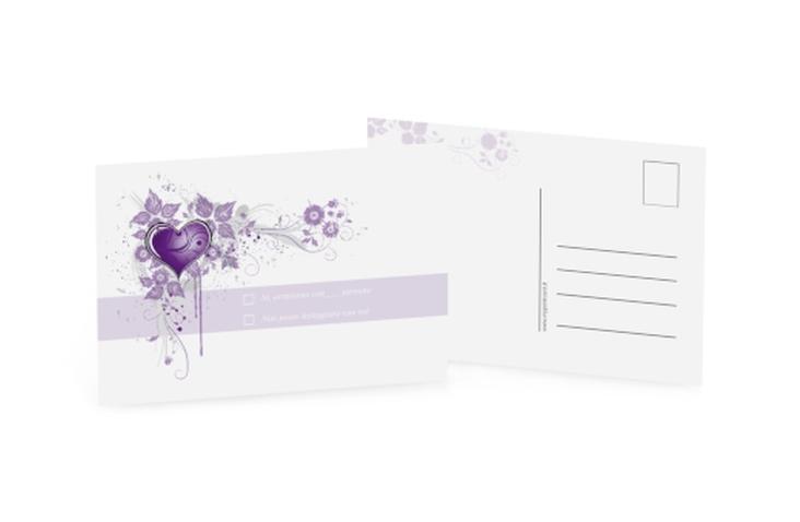 Biglietti risposta matrimonio collezione Trieste A6 Postkarte