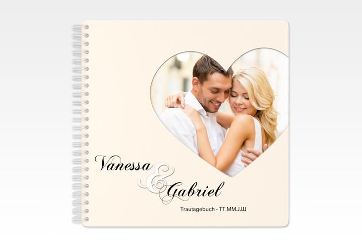 """Trautagebuch Hochzeit """"Sweetheart"""" Trautagebuch Hochzeit beige"""
