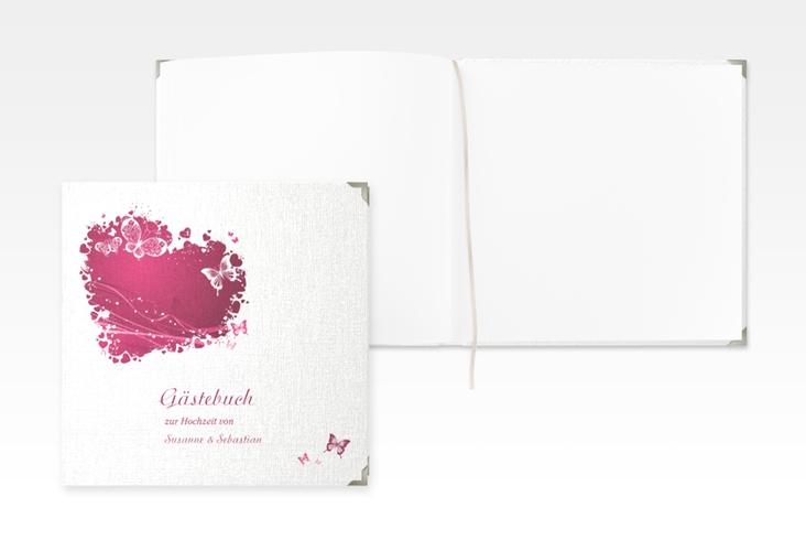 """Gästebuch Selection Hochzeit """"Mailand"""" Leinen-Hardcover"""