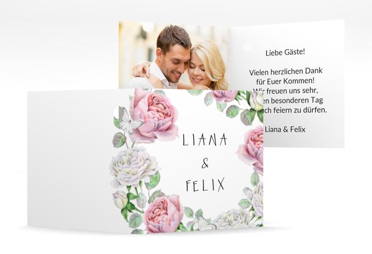 """Geschenkanhänger Hochzeit """"Primavera"""" Geschenkanhänger 10er Set weiss"""
