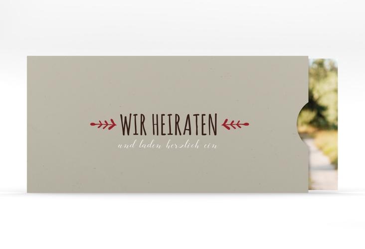 """Hochzeitseinladung """"Eden"""" Einsteckkarte"""