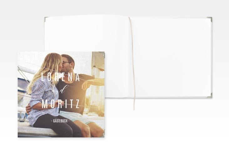 "Gästebuch Selection Hochzeit ""Memory"" Hardcover weiss"