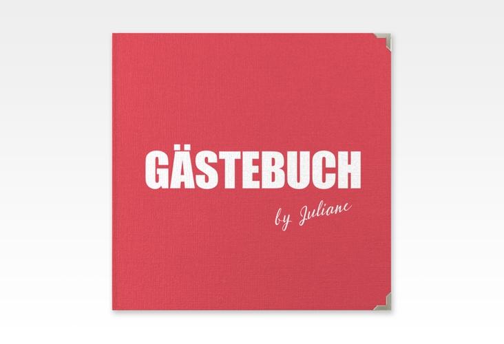 "Gästebuch Selection Geburtstag ""Zig"" Leinen-Hardcover rot"