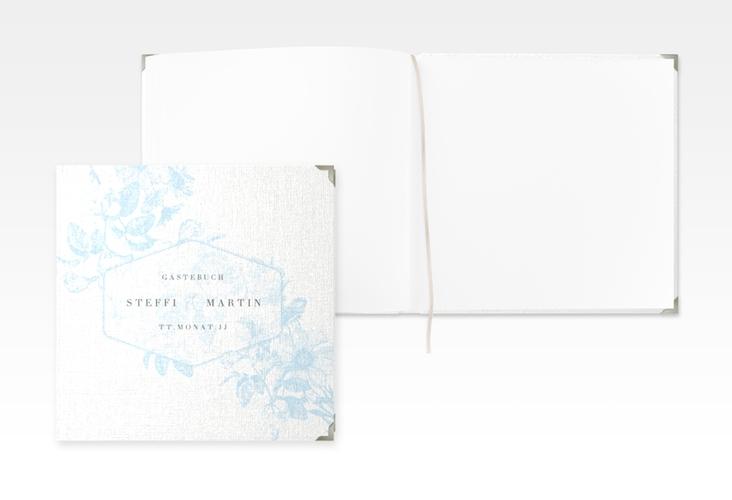 """Gästebuch Selection Hochzeit """"Magnificent"""" Hardcover tuerkis"""